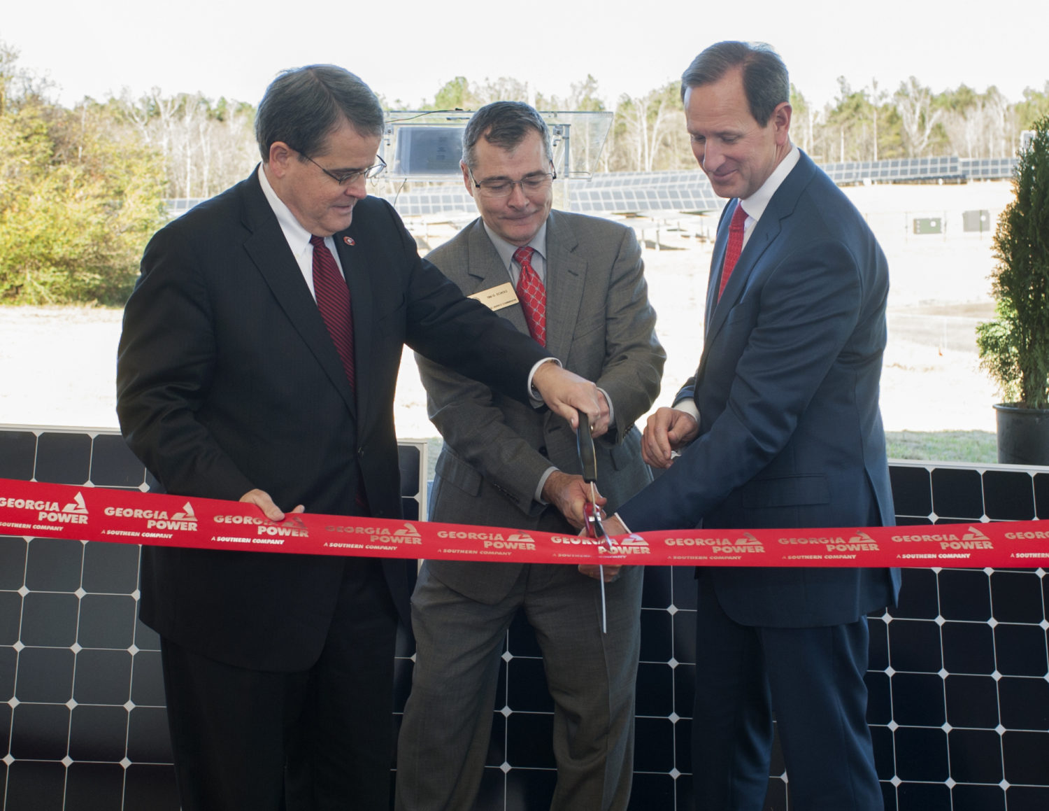 UGA/GA Power Ribbon Cutting