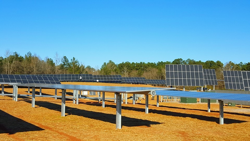 UGA/GA Power Solar Trackers