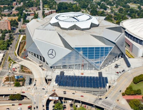 Radiance Solar Completes Project for GA Power at the Mercedes-Benz Stadium
