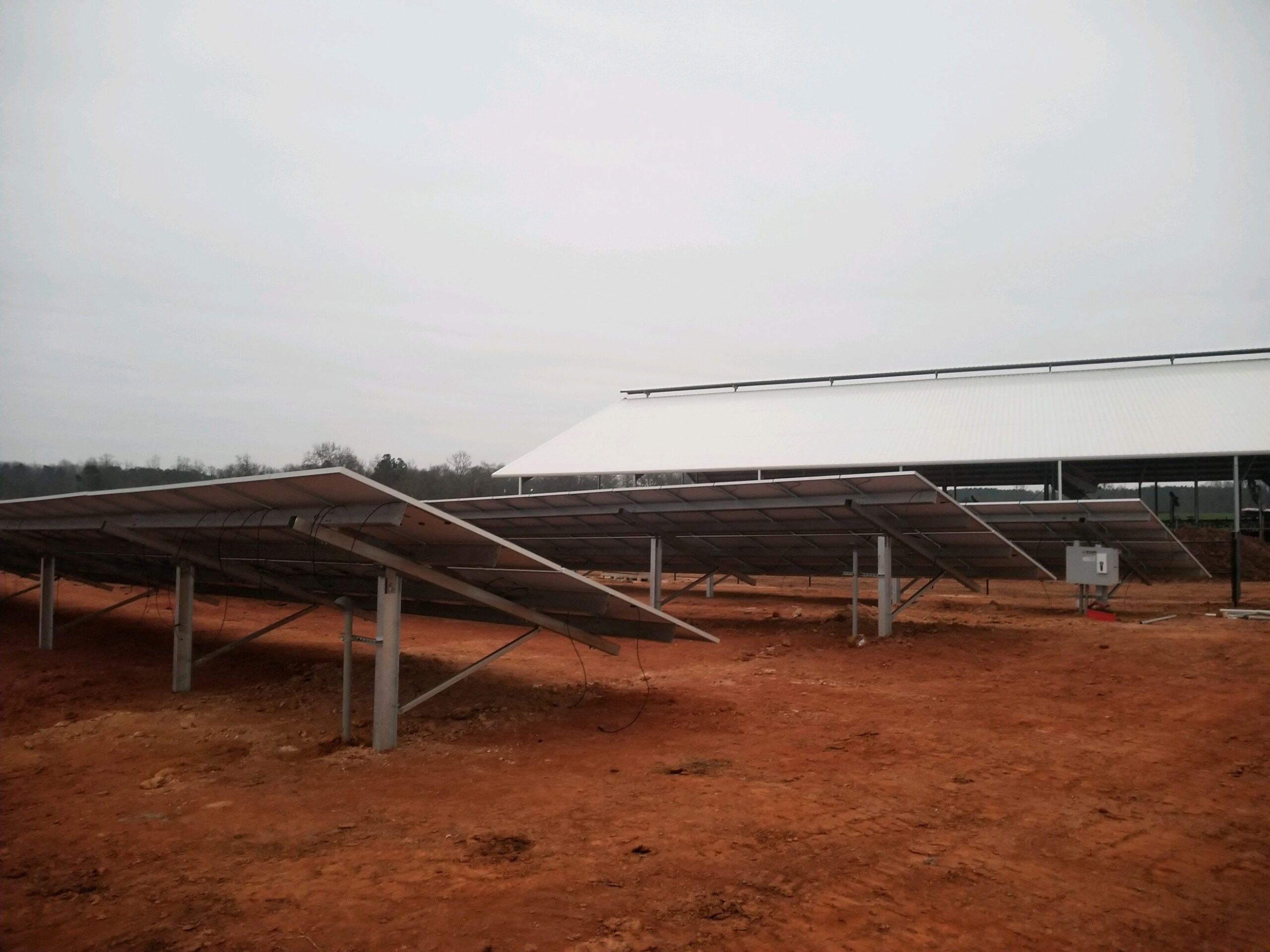 Radiance Solar has installed the Solar Array at Martin Dairy.